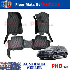 Premium Quality Tailored 3D floor mats for Subaru OUTBACK / LIBERTY MY 2015-2019