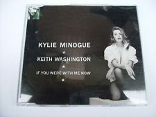 KYLIE MINOGUE - IF YOU WERE WITH ME NOW - CD SINGLE LIKE NEW 1992 AUSTRALIA