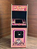 New Pink Ms. PacMan Arcade Machine, Upgraded