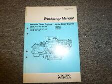 Volvo Penta TAMD61A TAMD71A TAMD71B TD61A Engine Shop Service Repair Manual