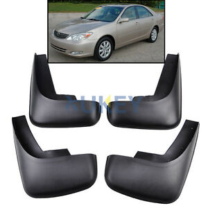 FOR TOYOTA CAMRY 2002-2006 MUD FLAP FLAPS SPLASH GUARDS MUDGUARDS 2003 2004 2005