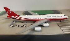 Republic of Turkey Boeing 747-8 TC-TRK 1/400 scale diecast JC Wings Models