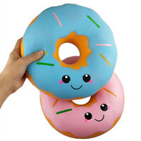 Adorable Soft Kawaii Jumbo Doughnut Slow Rising Cream Scented Stress Toy