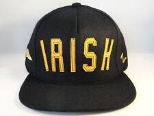 Notre Dame Irish NCAA Zephyr Strapback Cap Hat Legend Navy