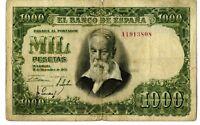 Billete de España 1000 pesetas Joaquin Sorolla A1913808
