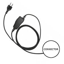 1-Wire Snaplock Fiber Replacement Connector Inline PTT / Mic for HYT TC-320