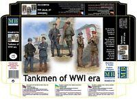 Master Box 35134 - 1/35 - Tankmen of WWI