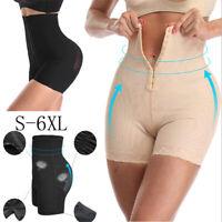 Damen Gepolstert Miederhose Taillenformer Bodyshaper Mieder Bauchweg Shapewear