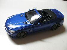 1:24 SCALE MAISTO MERCEDES-BENZ SL 63 AMG DIECAST CAR CONVERTIBLE W/O BOX