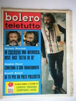 Bolero 1178 Power Tessuto Buccella Rascel Moustaki Vanilla Fudge Fratello Backy