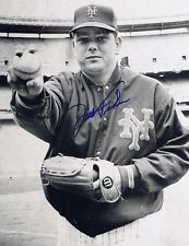 Jack Fisher Autographed Signed 8x10 Photo - W/COA Orioles Mets
