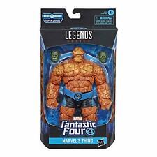 The Thing Marvel Legends Fantastic Four 6 Figure BAF Super Skrull Heads MIB RARE