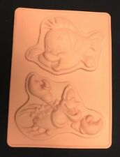 Disney The Little Mermaid Silicone Mould Mold Sugar Chocolate Cake Decorating