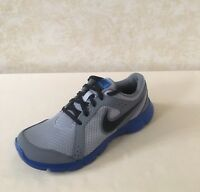 Nike Youth Flex Experience GS Gray/Blue Light Running/ Athletic Shoes 599340 011