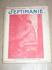 REVUE D'ART SEPTIMANIE N°46 / RARE / 1928 / BOIS GRAVES, DESSINS, PHOTOS...