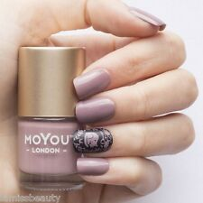 MoYou London PINK CLAY Stamping Lack Nagellack für Stempel rosa pink nude