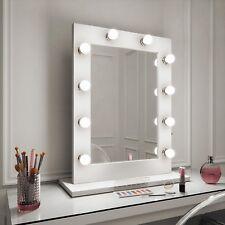 Hollywood Mirror JULIA BIANCO LUCIDO illuminato specchio 80x60