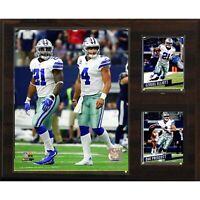 """NFL 12""""x15"""" Prescott-Elliott Dallas Cowboys Player Plaque"""