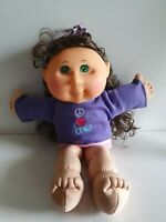 2011 Cabbage Patch Kid - Green Eyes, Brushable Hair JAKS