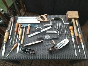 JOB LOT 30+ QUALITY WOODWORKING-CARPENTRY-JOINERY TOOLS STANLEY MARPLES RABONE +