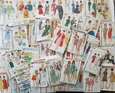 New ListingVintage Sewing Pattern Lot of 56 Butterick Simplicity McCall Misses Junior Teen