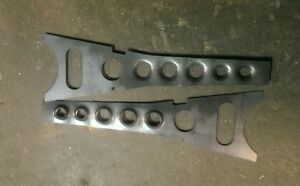 Ford mustang / x series falcon dimple front lower control arm gussets
