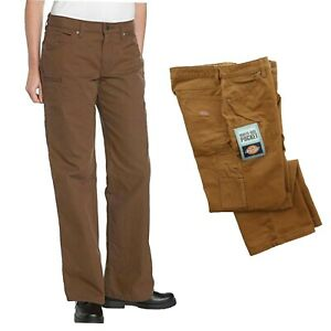 Dickies Carpenter Cargo Pants Straight Leg Womens Work Wear Pant FP120