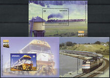 Grenada 2004 SG#MS4989 Steam Locomotives MNH M/S Set #A88061