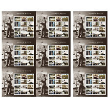 USPS New Andrew Wyeth Press Sheet with Die Cuts