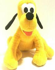 "Walt Disney Pluto Dog Plush 6.5"" Tall Stuffed Animal Yellow"