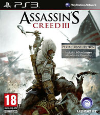 Assassins creed 3 PS3 * en excellent état *