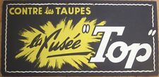 1950s French Agriculture/Gardening Advertising Sign: Contre les Taupes/Moles