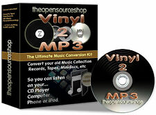 Convert Vinyl Records & Tapes to MP3/CD (1m Lead Length Kit) v1.1 + Free CD Gift