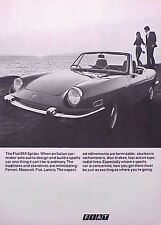 1970 Fiat 850 Spider  ORIGINAL OLD Ad   5+= FREE SHIP CMY STORE 4MORE GREAT ADS