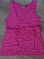 Haut habillé rose sans manche avec boucle KIABI Taille M NEUF sans étiquette