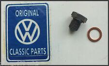 VW MK2 Golf - Genuine OEM - Oil Sump Plug & Copper Seal - BRAND NEW!!