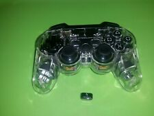 Afterglow PS3 Wireless Controller,clear 064-015T- WITH RECEIVER ALL TESTED