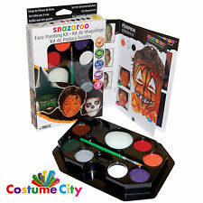 Snazaroo Face Paint Party Make Up Halloween Face Painting Set Kit & Guide