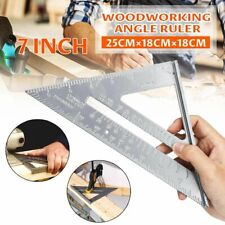 Aluminum Alloy Measuring Ruler Square Triangle Angle Protractor Measuring Tools