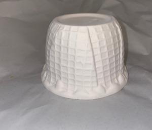 Neat new Waffle cone style design fusing / draping kiln mold  slump bowl mold