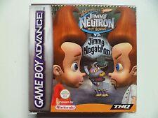 Las aventuras de Jimmy Neutron niño genio frente a Jimmy Negatron (Nintendo Game Boy