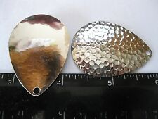 5 #7 Colorado **hammered nickel plated BRASS base blades**