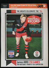 2007 AFL Football Record Essendon Bombers vs Geelong Cats July 6-8 unmarked