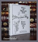 Where The Sidewalk Ends/Every Thing On It New Sealed Leather Bound Collectible