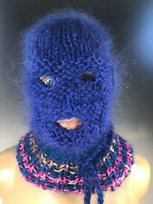 Mohair Sweater Balaclava With holes