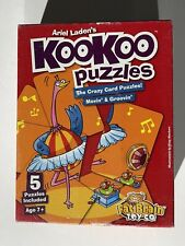 Ariel Ladens KooKoo Puzzles Crazy Card Puzzles Movin' and Groovin