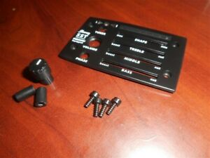 NEW Ibanez Faceplate & Knob For Fishman SST Preamp, #5APP01F