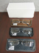 Design Optics By Foster Grant Rimless Reading Glasses, 3-pack +1.75