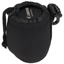 Neoprene Camera Lens Pouch Soft Bag Case Protector for Canon Nikon DSLR