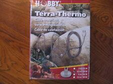 HOBBY Terra - Thermo - Heizkabel für Terrarien 450 cm, 25 Watt